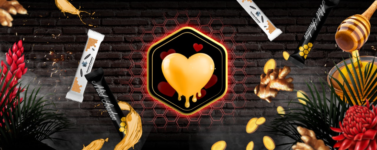 Bannière miel d'amour