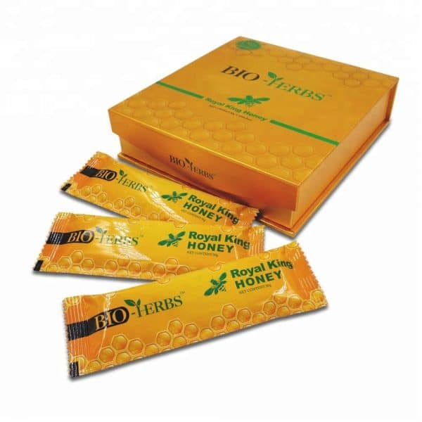 5 Stick aphrodisiaque Bio Herbs 30g (Royal King Honey)
